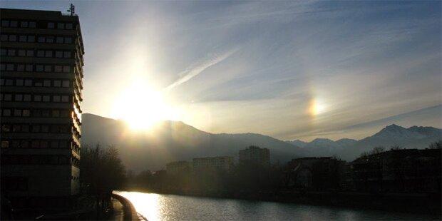 Zweite Sonne über Tirol gesichtet