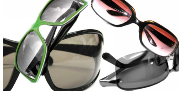 Sonnenbrillen für jeden Typ
