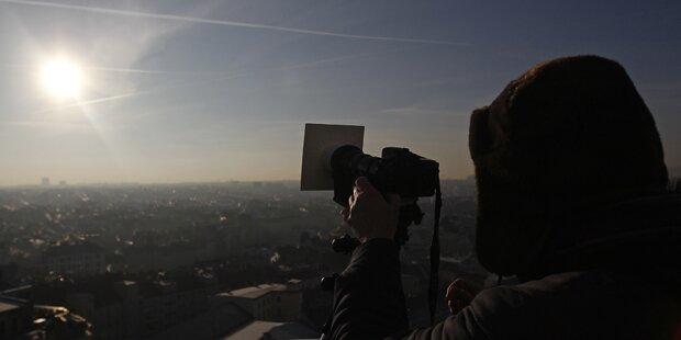 Mega-Sonnenfinsternis über Österreich
