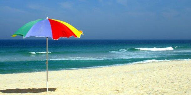 Sonnenschirme bieten wenig UV-Schutz