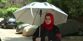 Praktischer Sonnenschirm