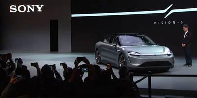 Paukenschlag: Sony zeigt eigenes E-Auto