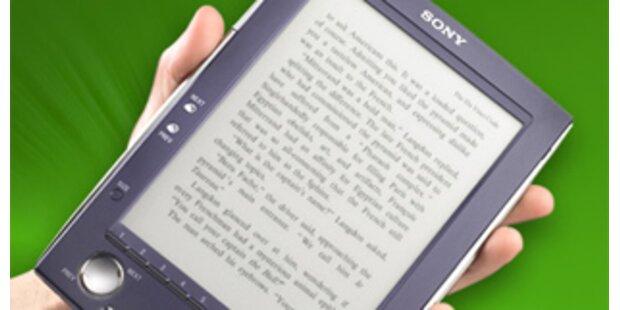 Sony kommt mit E-Book im Frühjahr 2009