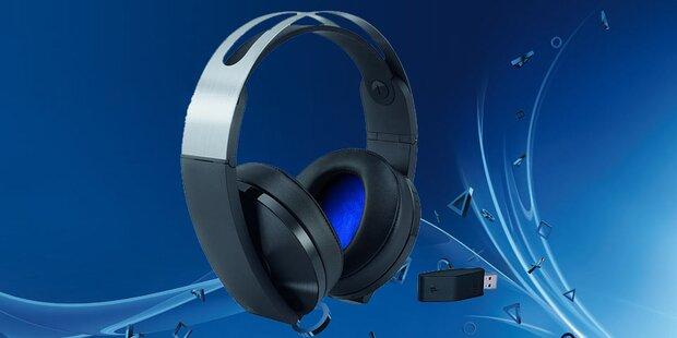 Neues Wireless‐Headset für die PS4
