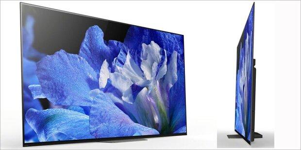 Sony greift mit neuen Top-OLED-TVs an