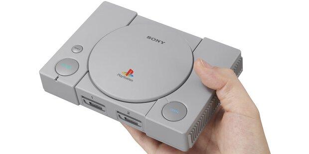 Kult-Comeback: Sony bringt die PS1-Mini