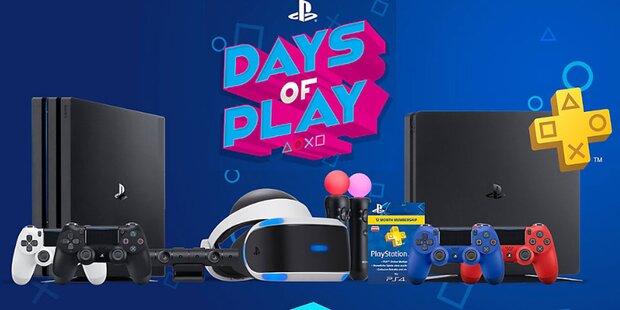 Sony startet PS4 Schnäppchen-Tage