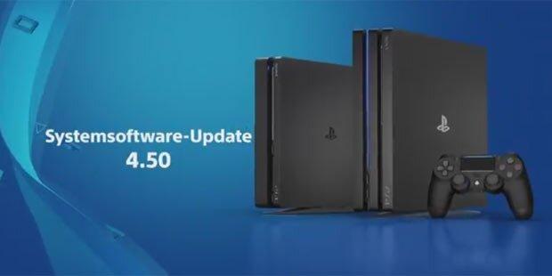 Super-Update für die PS4 ist da