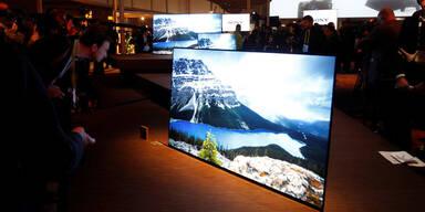 Ultradünne Fernseher sind die CES-Stars