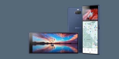 Sony greift mit Xperia 10 und 10 Plus an