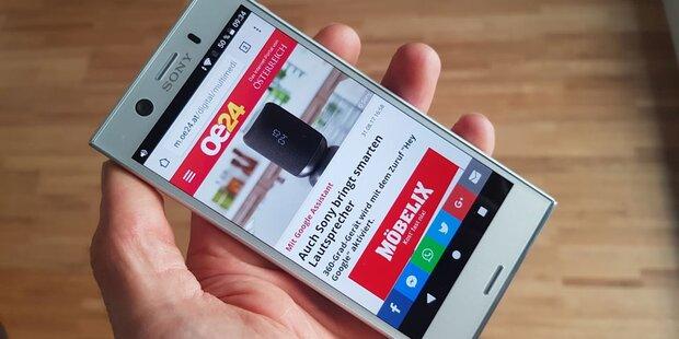 Sony-Smartphone mit genialer 3D-Funktion