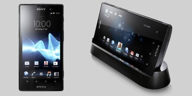 Sony bringt Top-Smartphone Xperia ion