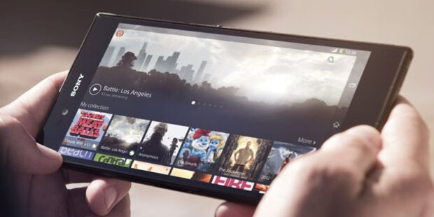 Neues Sony-Phablet im großen oe24.at-Test