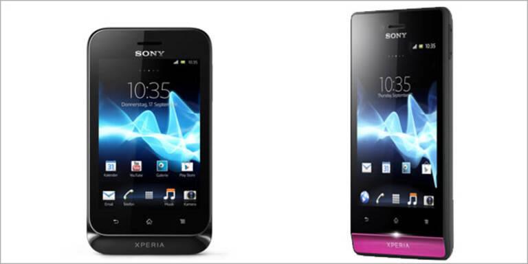 Sony bringt Android 4.0-Handy um 169 Euro