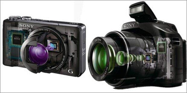 Sony bringt zwei neue Highend-Kameras