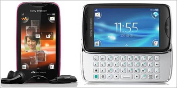 Mix Walkman & txt pro von Sony Ericsson