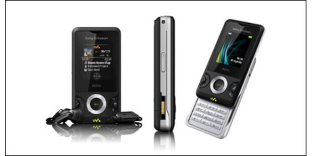 Neues, erschwingliches Walkman Handy