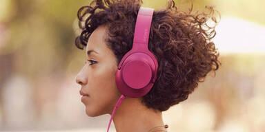 Stylische Kopfhörer von Sony im Test
