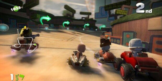 LittleBigPlanet Karting für die PS3 ist da