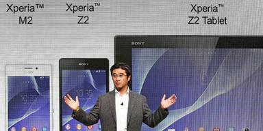 Sony greift mit Xperia Z2 und Z2 Tablet an