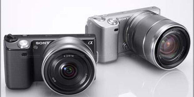 Sonys NEX-3 und NEX-5 werden 3D-fähig