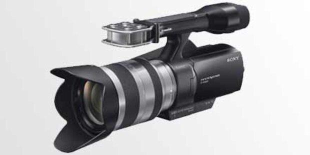 HD-Camcorder inklusive Wechsel-Objektiv