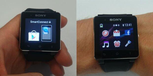 Die neue Sony SmartWatch2 im Test