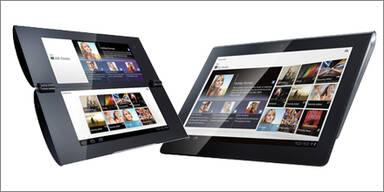 "Sony bringt zwei ""Honeycomb""-Tablets"
