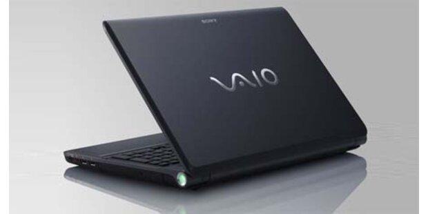Sonys Vaio-Laptops laufen heiß