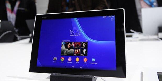 Tablet-Verkäufe stiegen um über zwei Drittel