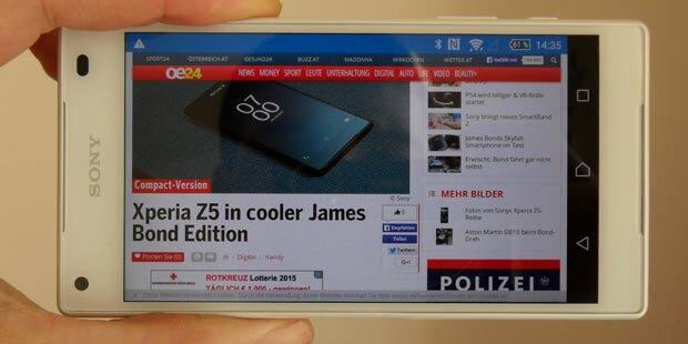 Sony Xperia Z5 Compact im Test