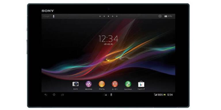 Sony bringt ein 10,1 Zoll FullHD-Tablet