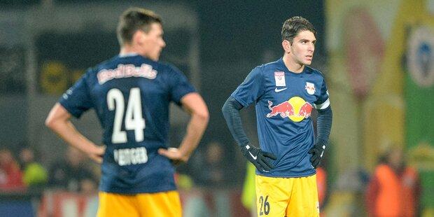 Red Bull Salzburg gegen Austria Wien