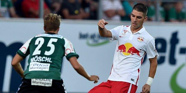 Salzburg enttäuscht beim Heimspiel