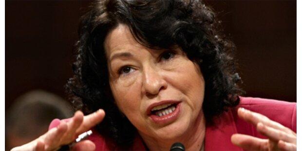 Erstmals Latina oberste US-Richterin