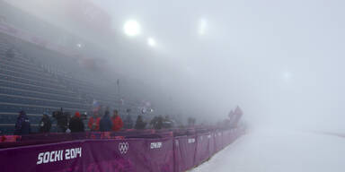 Sotschis Kampf gegen den Nebel