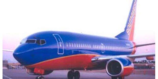 Störendes Kind aus Flugzeug geworfen