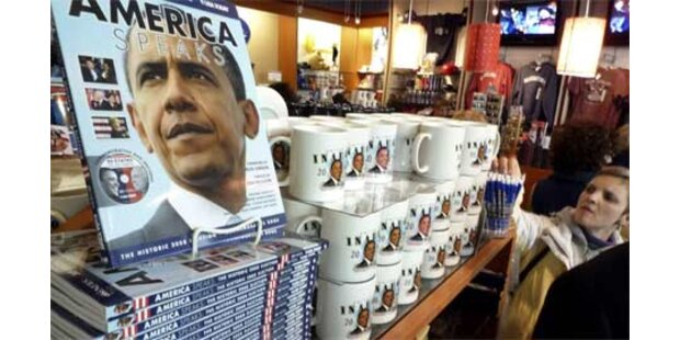 Obama-Fanartikel boomen