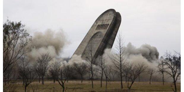 Gesprengtes Denkmal kommt nach Moskau