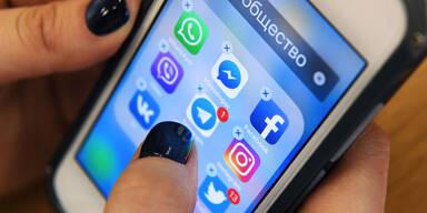 Geldbuße für Facebook, Twitter und WhatsApp