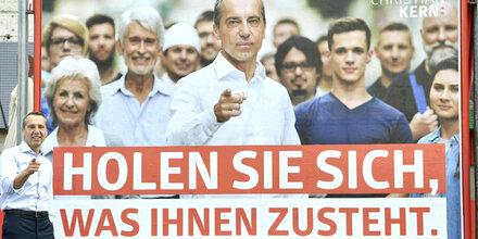 SPÖ: Das sind die neuen Wahlplakate