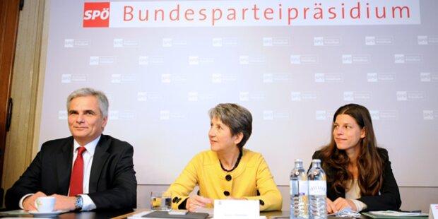 Faymann will nur mit ÖVP verhandeln