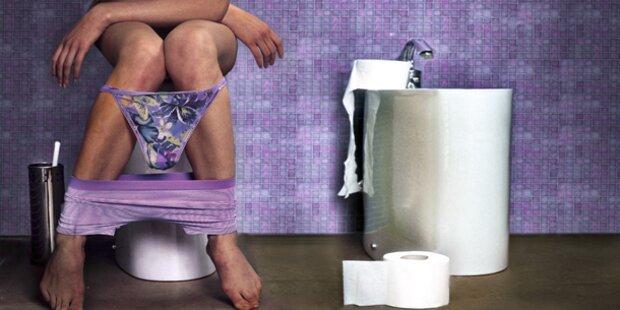 Spanner versteckte Kameras in Toiletten