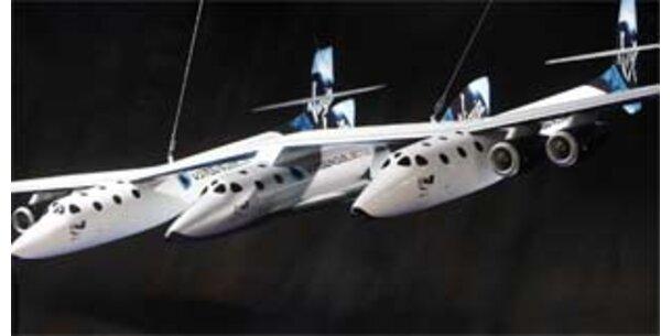 Mit dem SpaceShipTwo ins Weltall