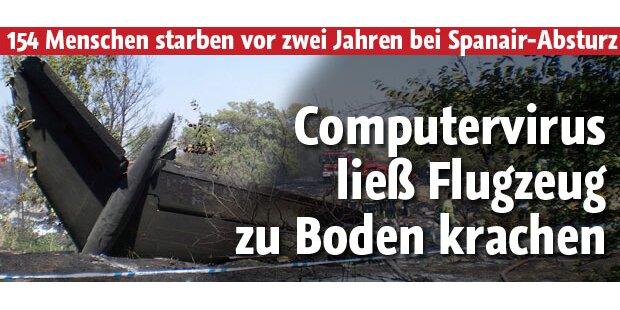 Computervirus sorgte für Spanair-Absturz