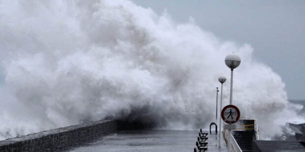 Sturmtief im Nordwesten Spaniens