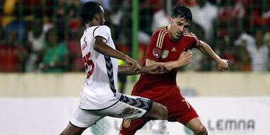 Spanien gewann umstrittenes Länderspiel