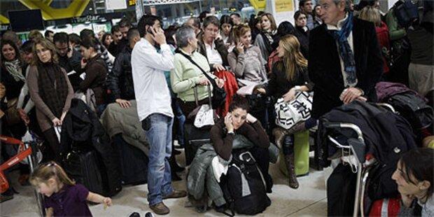 Fluglotsen-Streik stürzt Spanien ins Chaos
