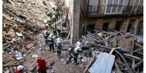 Drei Tote bei Hauseinsturz in Spanien