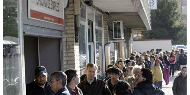 Rekord-Arbeitslosigkeit in Spanien